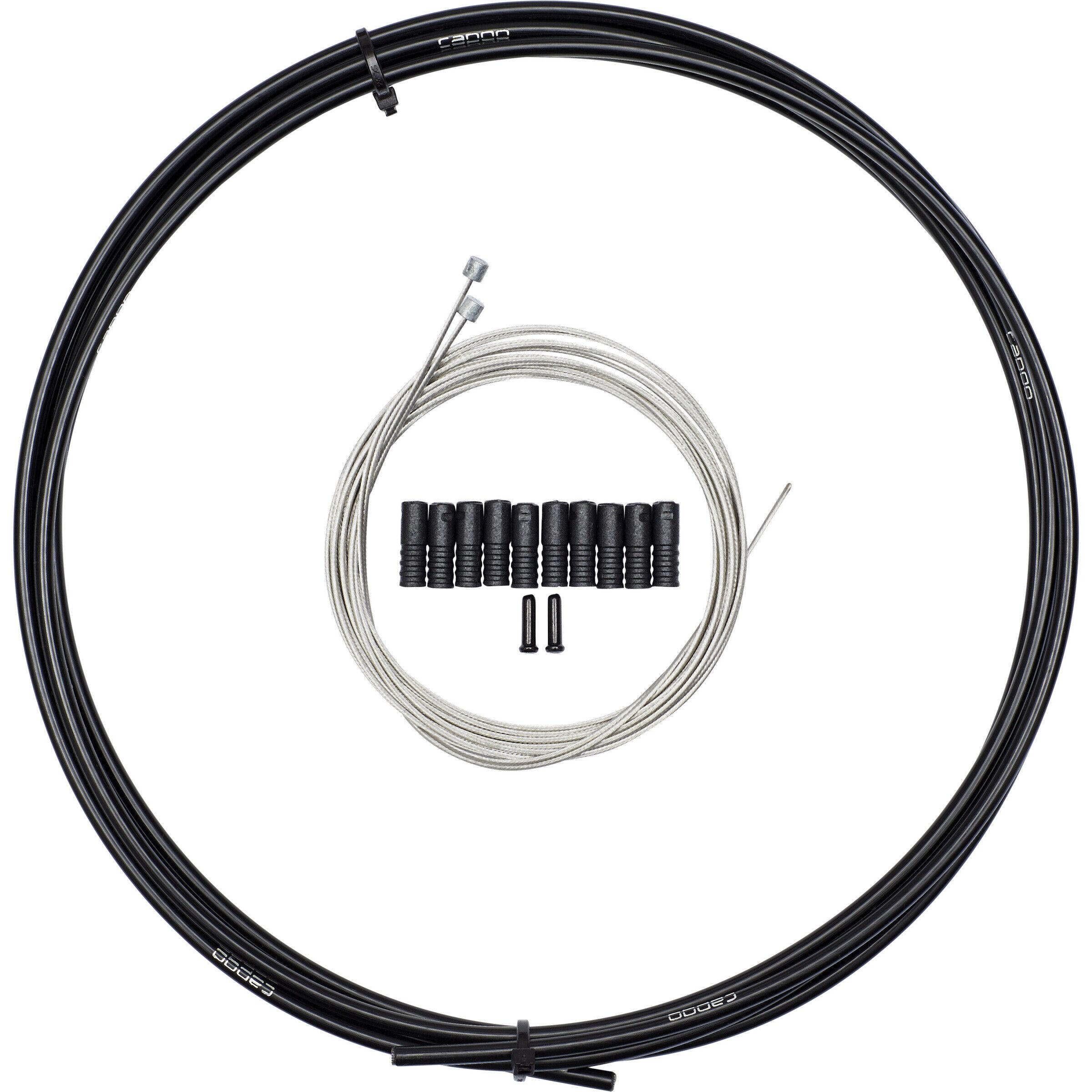 Capgo Cable Systems Schaltzug-Set Eco Line für Shimano//SRAM MTB lang schwarz