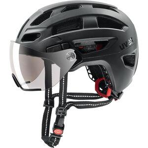 UVEX Finale Visor Helm black matt black matt