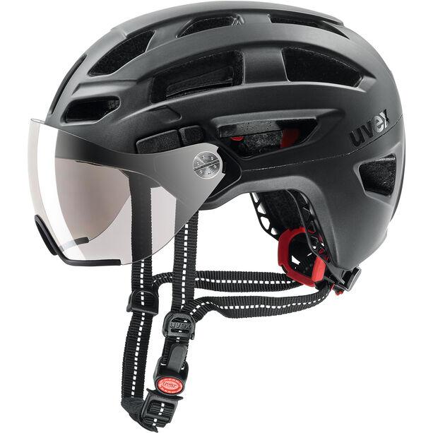 UVEX Finale Visor Helm black matt
