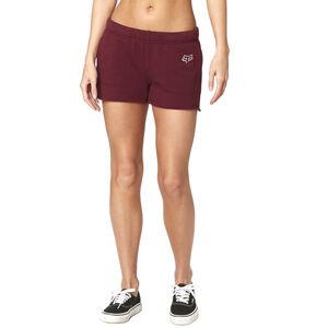 Fox Onlookr Fleece Shorts Damen charcoal/graphite/red charcoal/graphite/red