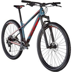 GT Bicycles Zaskar Carbon Comp Herren satin slate blue/black/red satin slate blue/black/red