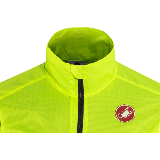 Castelli Squadra Jacke Herren yellow fluo