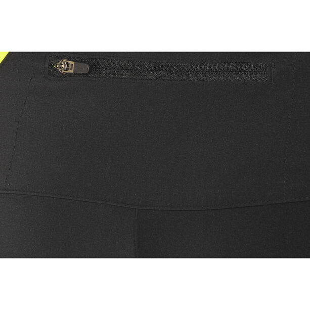 GORE WEAR R5 2in1 Shorts Herren black/neon yellow