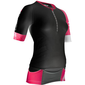 Compressport TR3 Aero Triathlon Top Damen black black