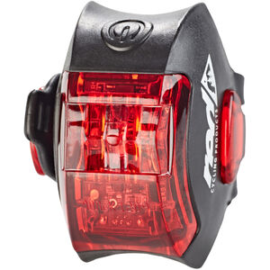 Red Cycling Products Power LED USB Rear Light schwarz schwarz