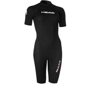 Head Multix VS Multisport 2,5 Shorty Suit Damen black/red black/red