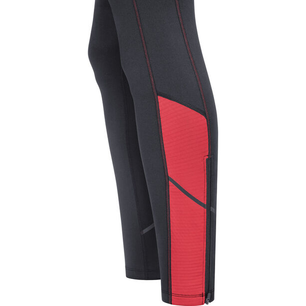 GORE WEAR R3 Thermo Tights Damen black/hibiscus pink