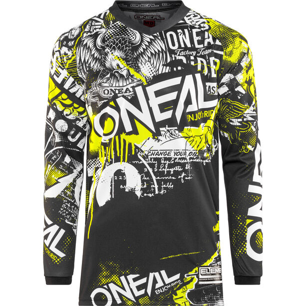O'Neal Element Trikot Herren attack (black/hi-viz)