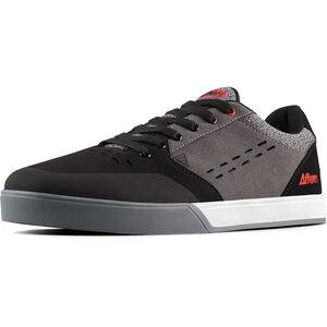 Afton Shoes Keegan Flatpedal Schuhe Herren grey-red grey-red