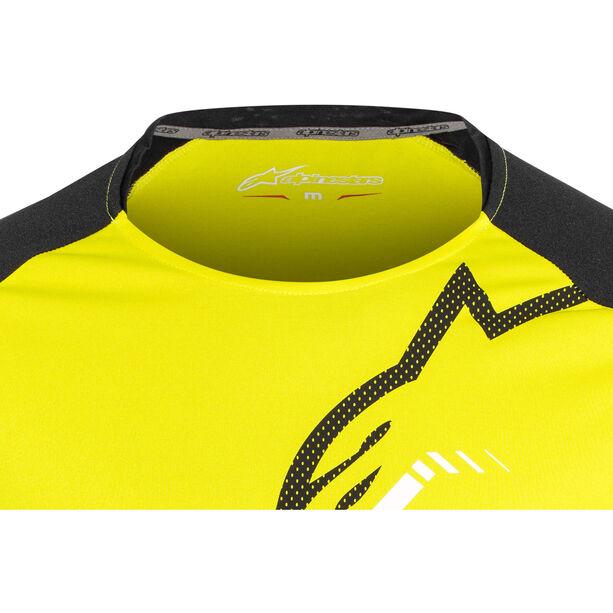 Alpinestars Trailstar Kurzarm Trikot Herren acid yellow/black