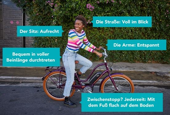 Electra Cruiser mit Flat Foot Technology