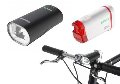 Litecco LED Beleuchtung für Fahrräder