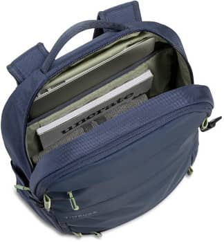 TIMBUK2 Rucksack in grau mit praktischen Fächern zum Verstauen