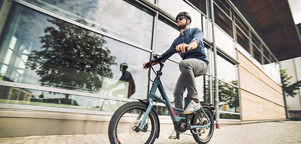 Cube E-Citybikes