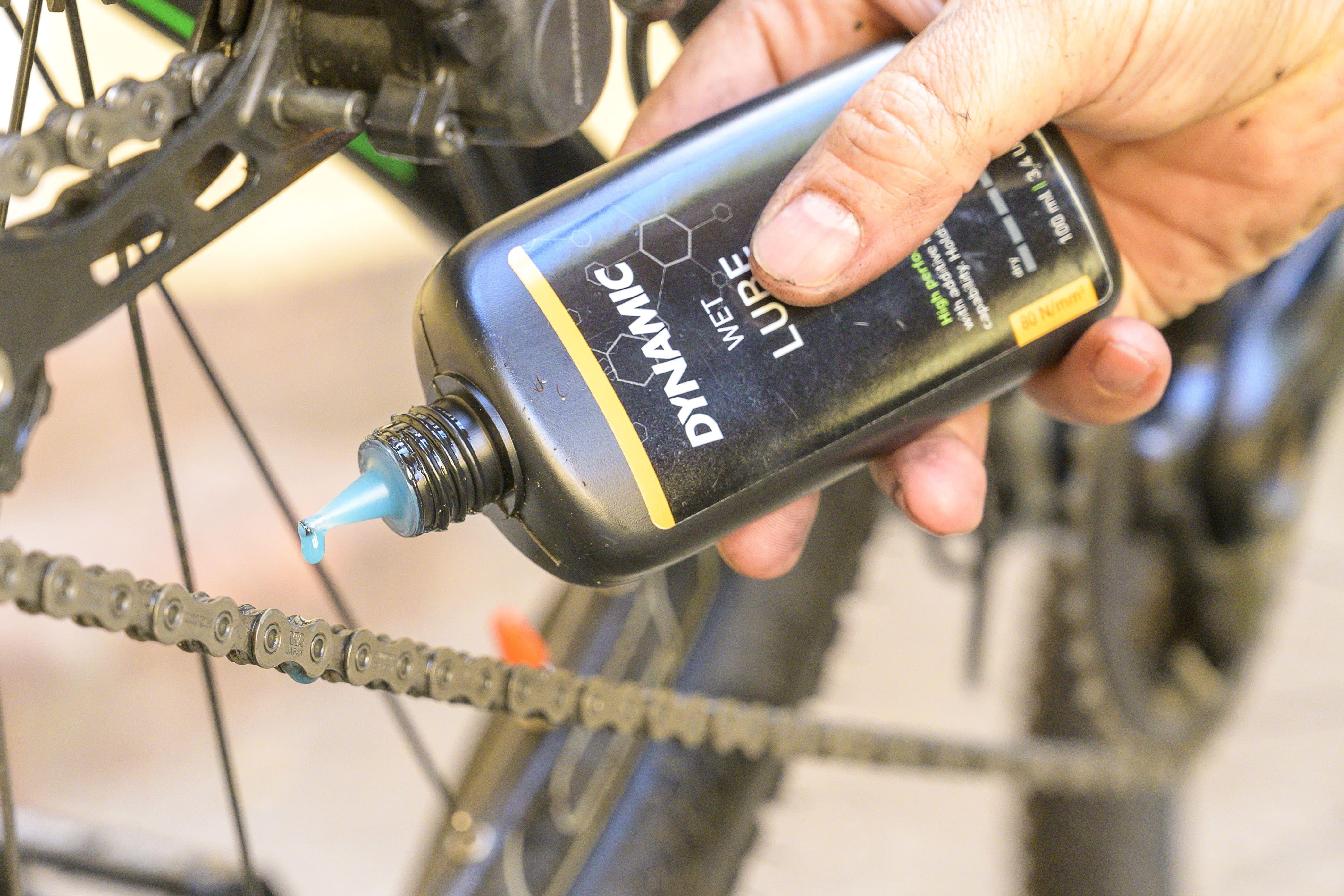 Kette richtig reinigen und Ölen - Fahrrad pflegen Herbst