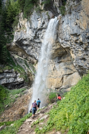 Johannesfall - Wasserfall Stoneman Taurista