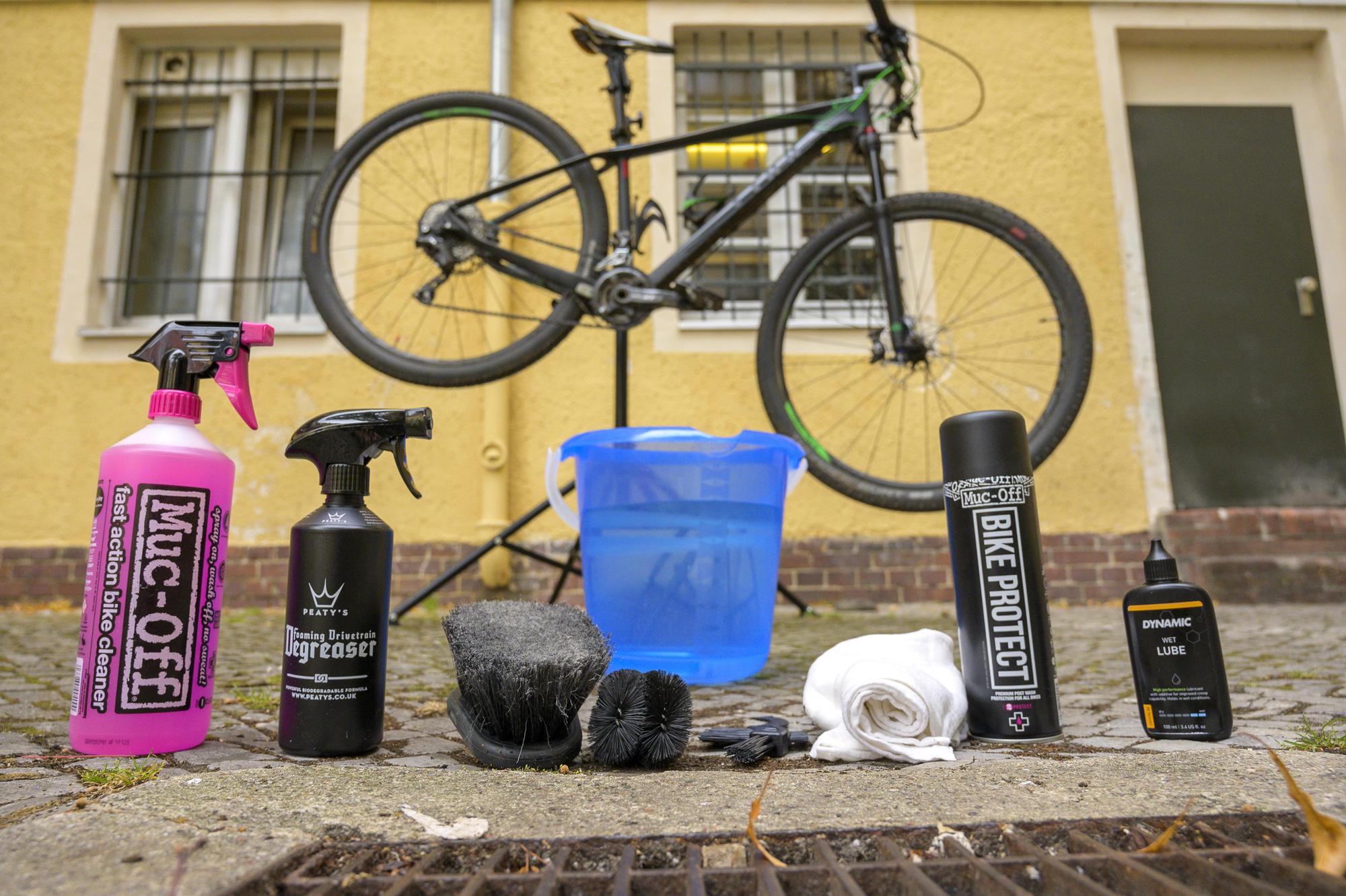 Fahrrad reinigen und Fahrrad pflegen Tipps und Tricks in