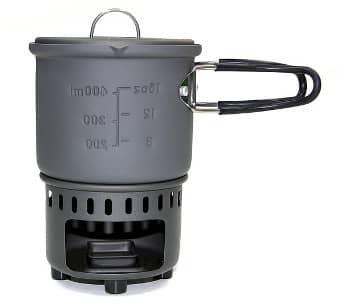 Campingkocher: Esbit Trockenbrennstoff-Kochset