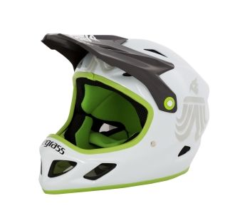 Bluegrass Enduro Helm in Grün
