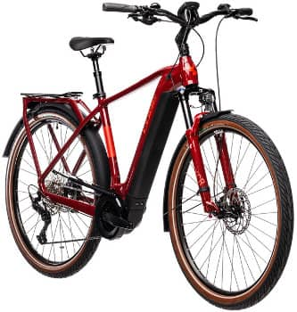 Cube Touring Hybrid in rot