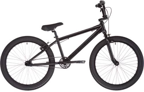 Schwarzes BMX von SE Bikes